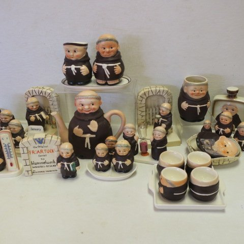"GOEBEL ""Friar Tuck"" Collectables,"