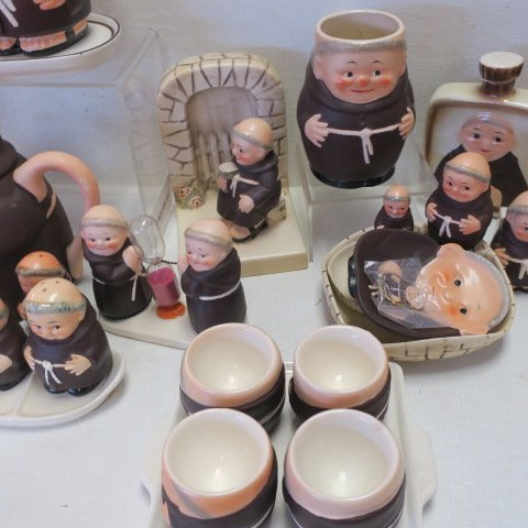 "GOEBEL ""Friar Tuck"" Collectables, - 3"