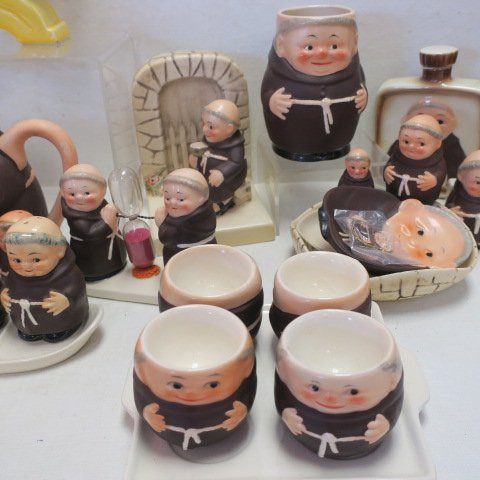 "GOEBEL ""Friar Tuck"" Collectables, - 5"