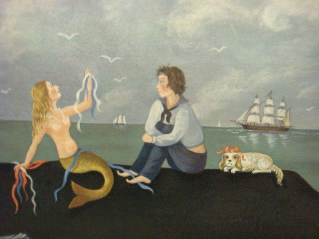 MARTHA CAHOON Print on Canvas, The Skylark: - 2