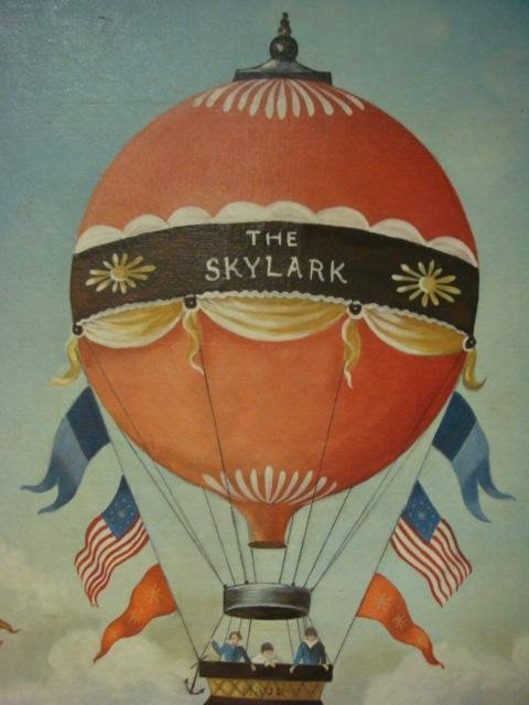 MARTHA CAHOON Print on Canvas, The Skylark: - 4