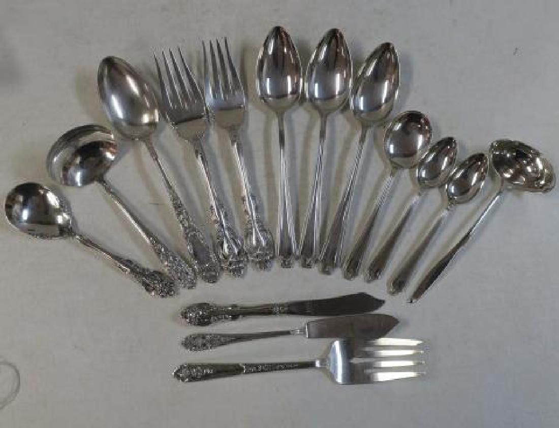 Assorted Sterling Silver Flatware, 14 Pieces: