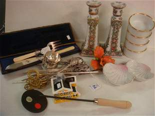Assortment of Household and Kitchen Items: