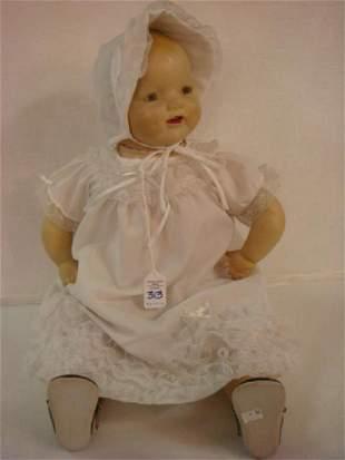 E.I. HORSMAN Composition Baby Darling Doll: