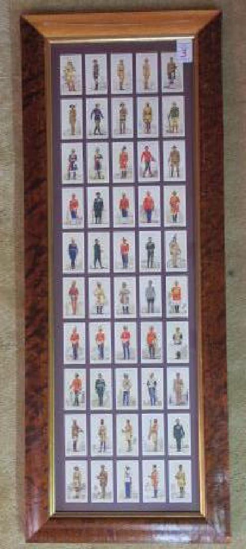 "PLAYERS Cigarette Cards ""UNIFORMS of BRITISH EMPIRE:"