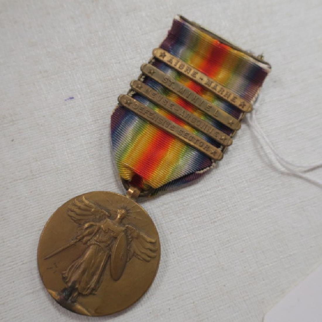 World War One Victory Medal with Four Bars: