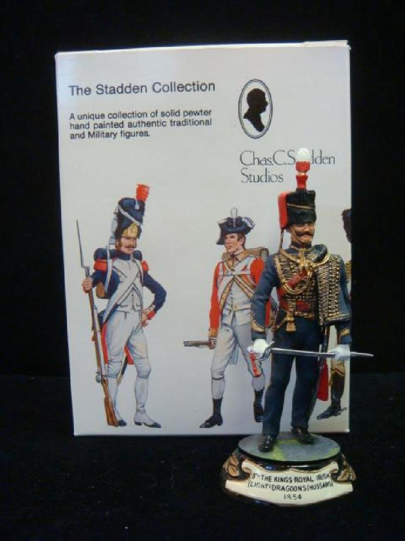 STADDEN Military Figurine 90mm 8th KINGS IRISH DRAGOON