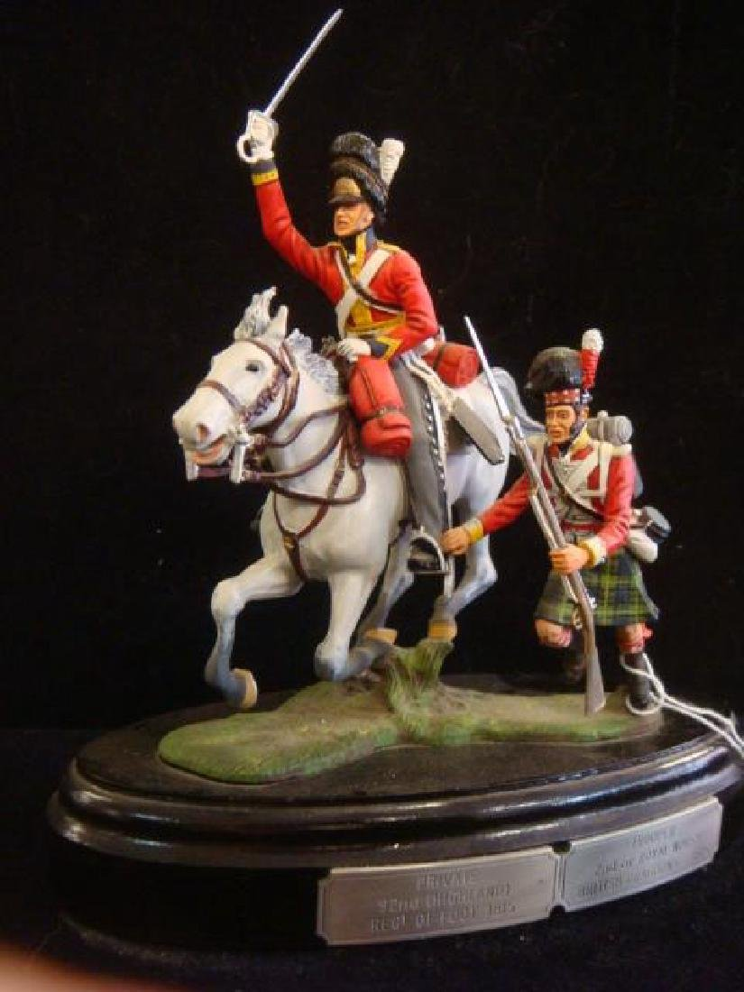 STADDEN Mounted Double Figurine, 2nd Dragoons/92 Foot: