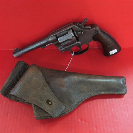 COLT US ARMY MODEL 1917 45 ACP Double Action Revolver: