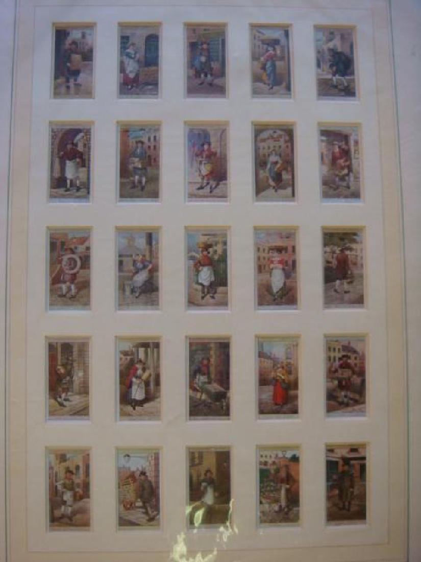 """JOHN PLAYER'S CIGARETTE Cards """"CRIES OF LONDON"""""""
