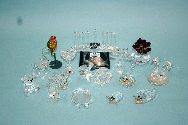 3: SWAROVSKI- A lot of 15 miniature crystal figurines o