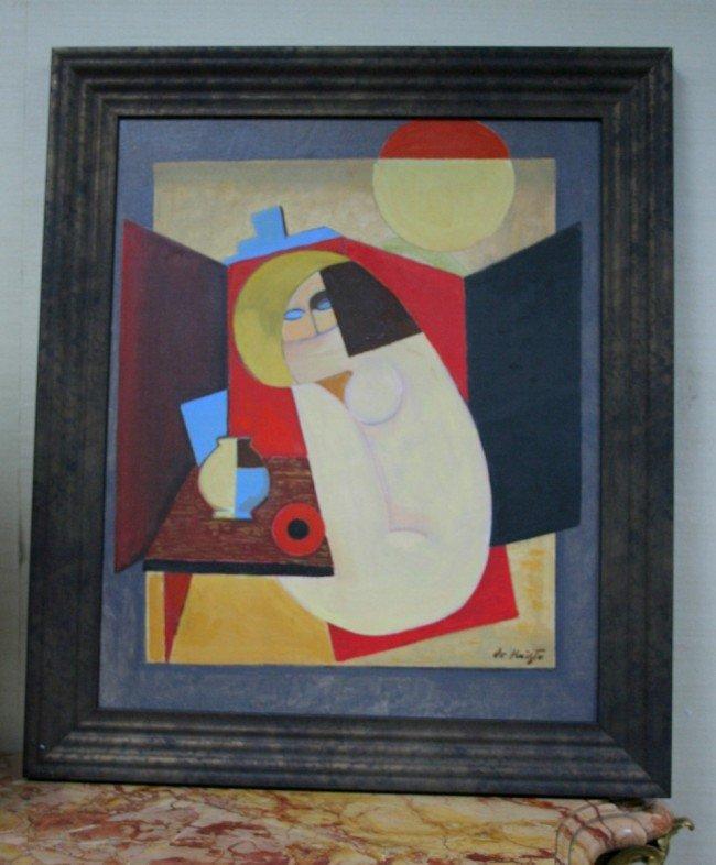 317: BELA DE KRISTO (1920-2006) French school. Cubist c