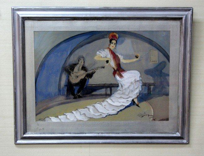 "321: JEAN-GABRIEL DOMERGUE (1889-1962) French School. """