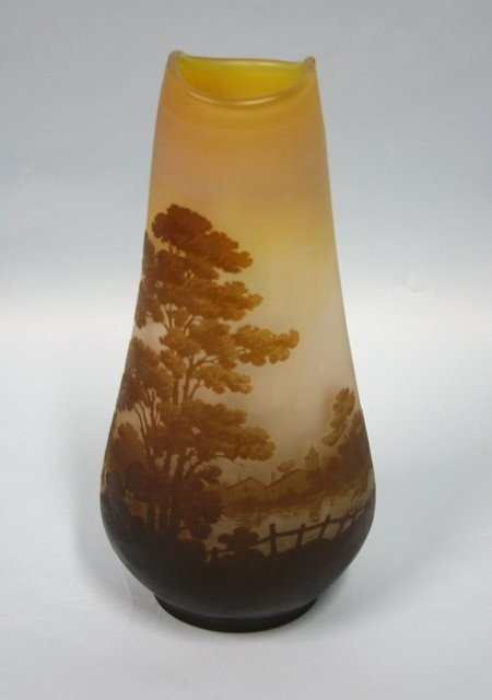 11A: ART NOUVEAU - EMILE GALLE. A French cameo glass