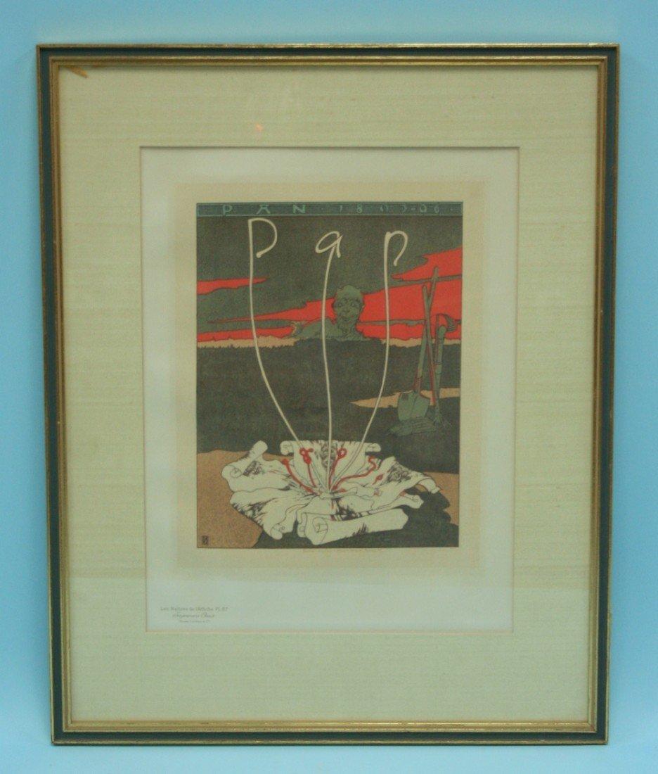 JOSEPH SATTLER (1867-1931) - A poster for the