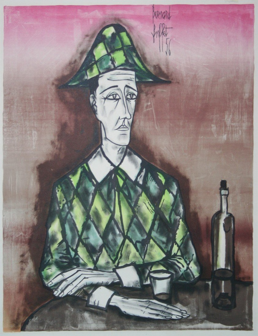 "BERNARD BUFFET (1928-1999) French school. ""Th"