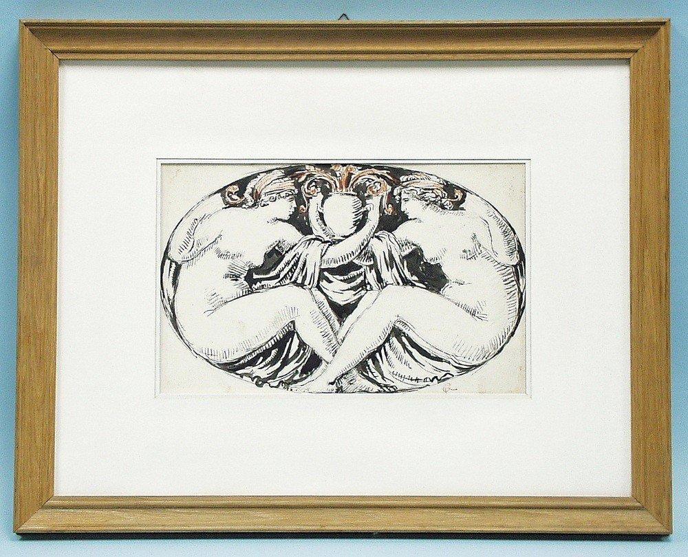"RICHARD GUINO (1890-1973) French school. ""Nud"