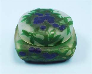 ART NOUVEAU - DAUM, NANCY - A French cameo glass co