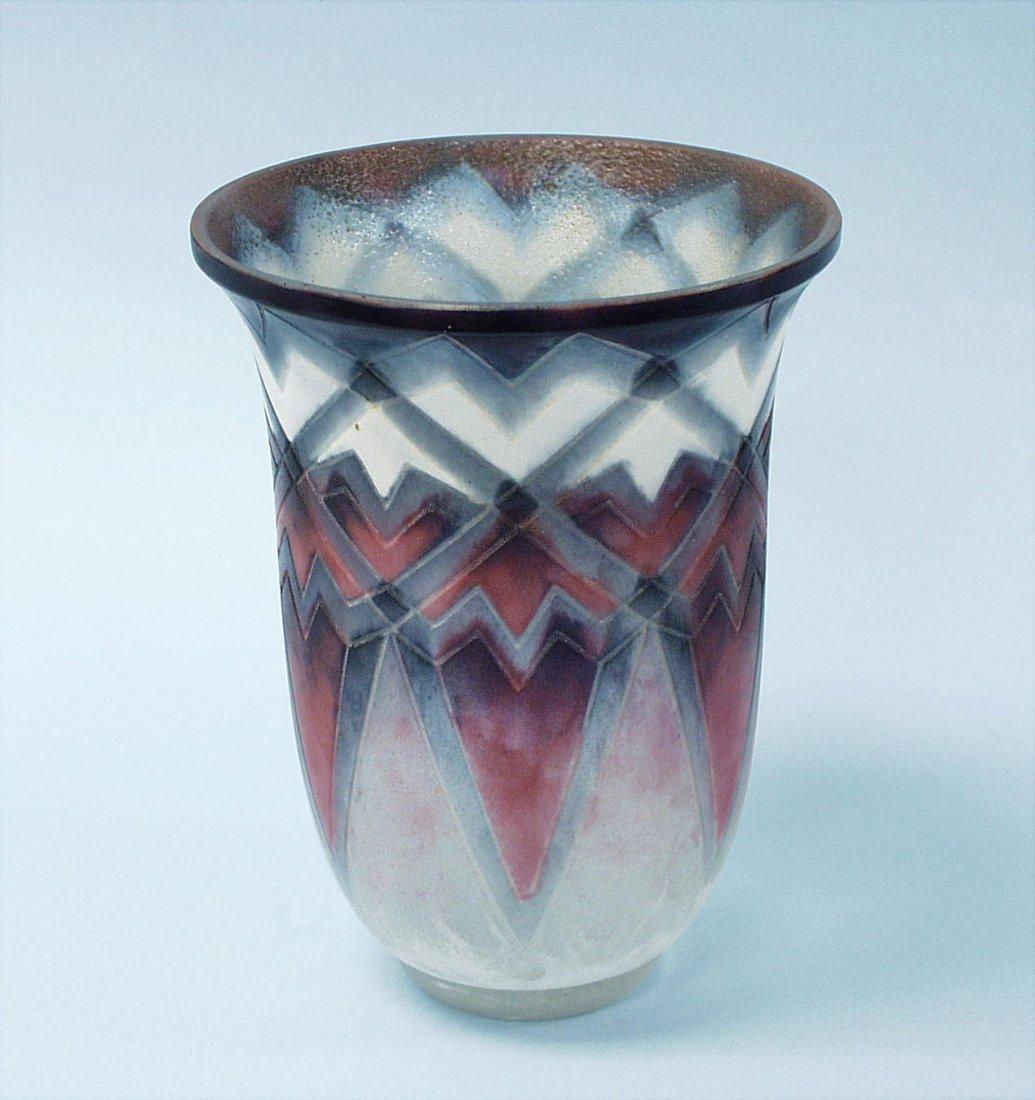 18: ART NOUVEAU - G. ARGY ROUSSEAU (1885-1953). An impo