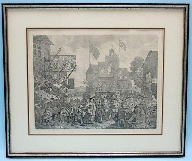 305: After WILLIAM HOGARTH (1697 - 1764) English school
