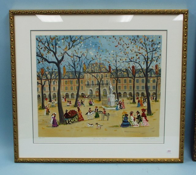 "312: CLAUDE TABET (1924-1979) French school. ""Place des"