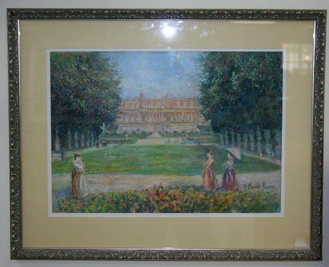 "321: H. CLAUDE PISSARRO - 20th century French school. """