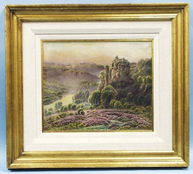 "347: GASTON ANGLADE (1854-1919) French school. ""Chateau"