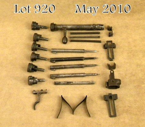 920: Lot of Japanese Arisaka military rifle parts  incl