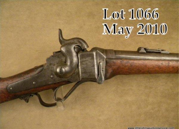 1066: Sharp New Model 1863 percussion SRC, .52 cal., 22