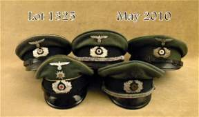 1325: : Lot of five WWII German enlisted and officer v