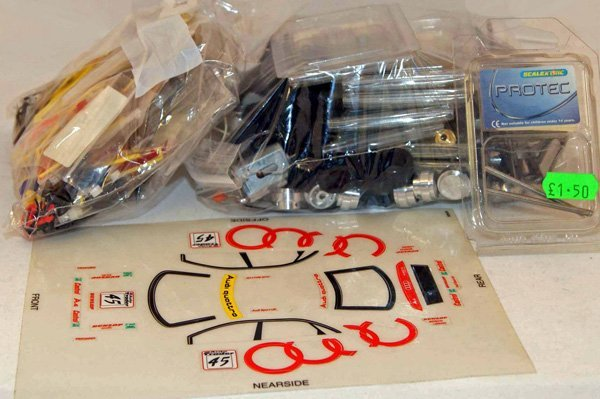 6: Large quantity of Scalextric Audi Q and Vectra Prote