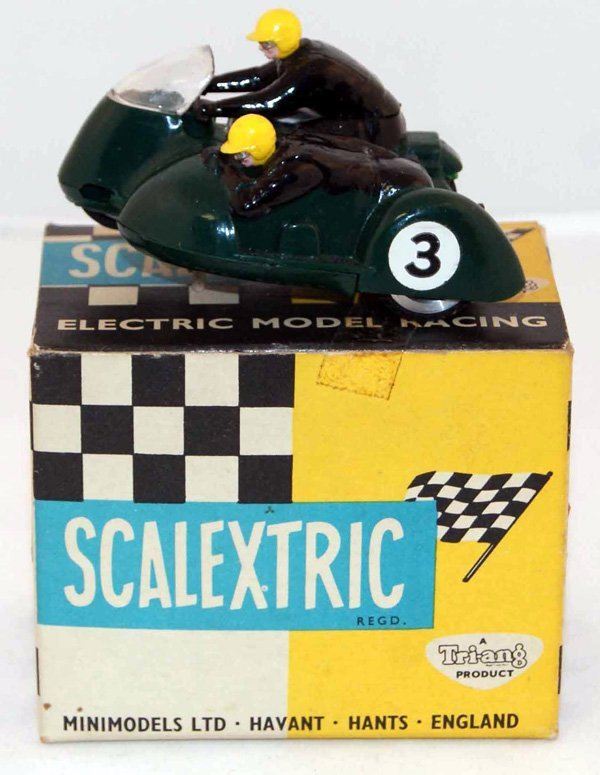 10: Scalextric B1 Typhoon.  Green RN 3.  Very Good in V