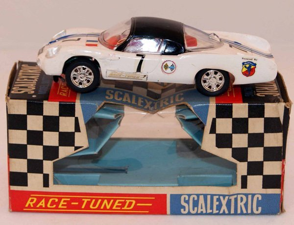 12: Scalextric C1 Alpine Renault.  White with Black Roo
