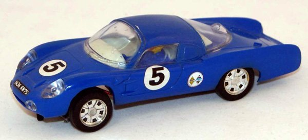 13: Unboxed Scalextric C1 Alpine Renault.  Blue with Wh