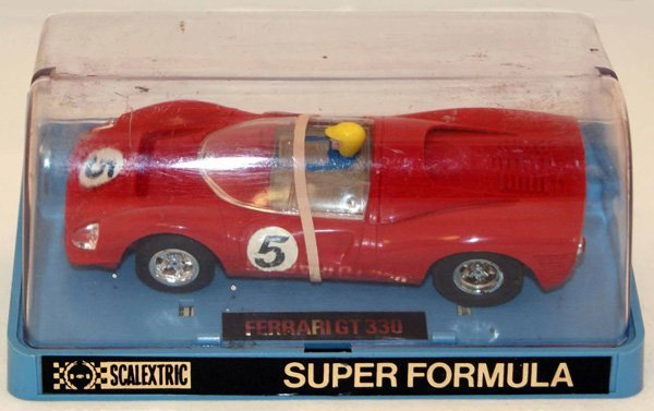 24: Scalextric C41 Ferrari GT 330.  Red , RN 5.  Very G