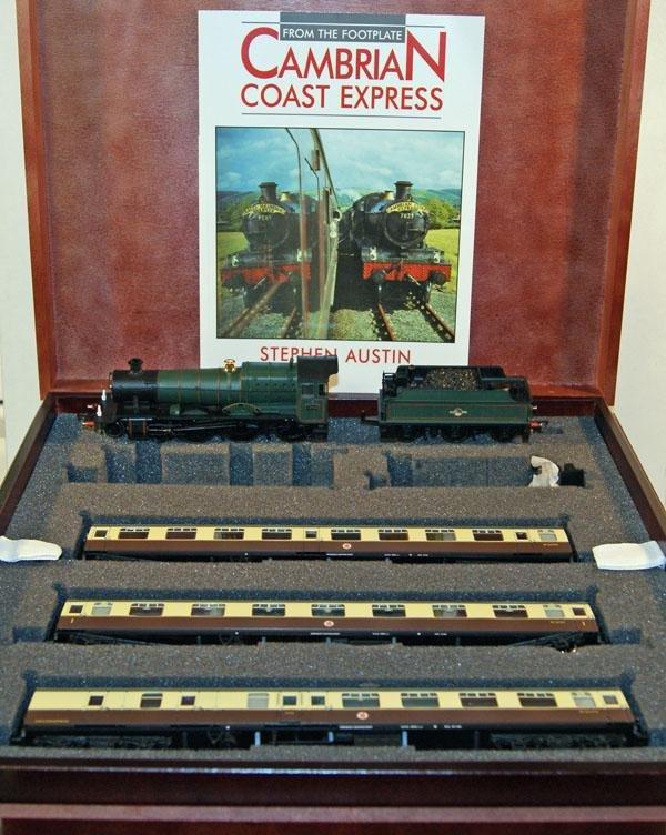 1: Bachmann Cambrian Coast Express Set # 135 of 1000 co