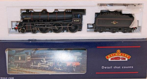 5: Bachmann Lord Burghley BR Black weathered.  Mint in