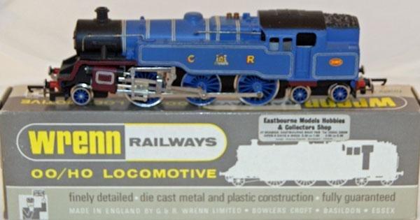 6: Wrenn # W2246 2-6-4 Tank CR Blue 2085.  Mint in Mint