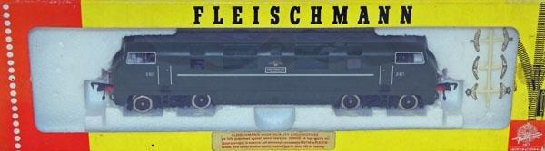 11: Fleischmann # 4247 BoBo Diesel D821.  Mint in Near