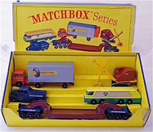 49: Matchbox Major Gift Set G9 Commercial Vehicles comp