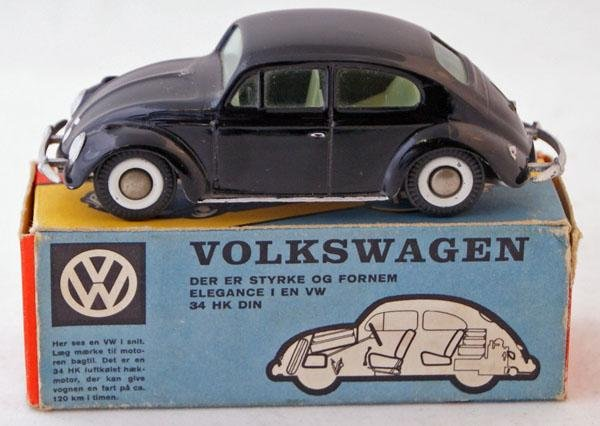 67: Tekno # 819 Volkswagen.  Black with Pale Yellow int