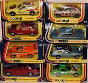 308: 12 x Corgi 1:24th Scale Cars including Lotus Elite