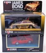 2 x Corgi James Bond cars including 30th Anniversa