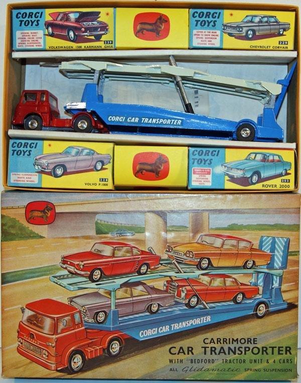382: Corgi Gift Set # 28 comprising # 1105 Bedford TK C