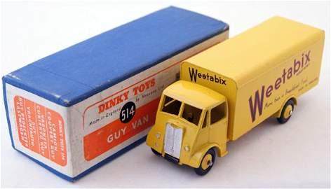 "367: Dinky Supertoys # 514 Guy Van ""Weetabix"".  Yellow"