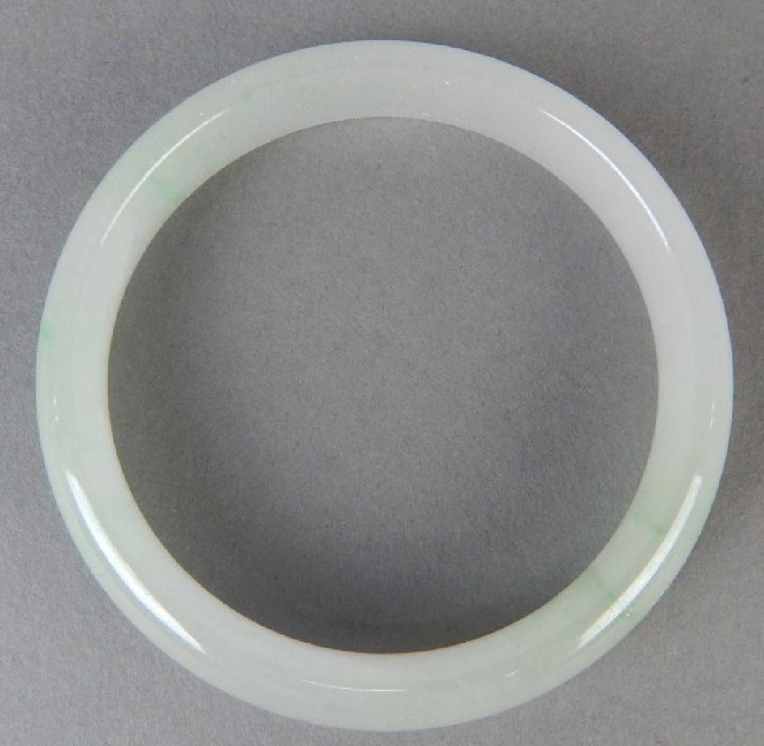 White Jade Bangle - 2