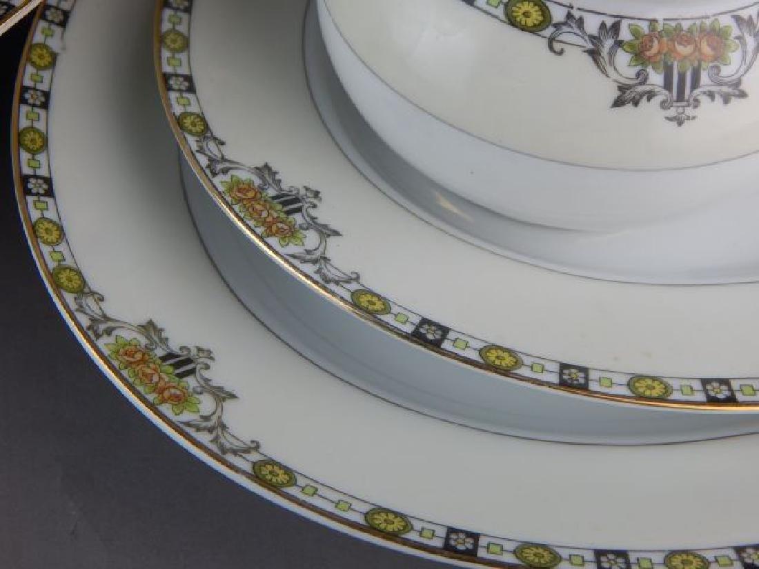 """Noritake China 73 Pieces """"Anaconda"""" Dinner Set - 3"""