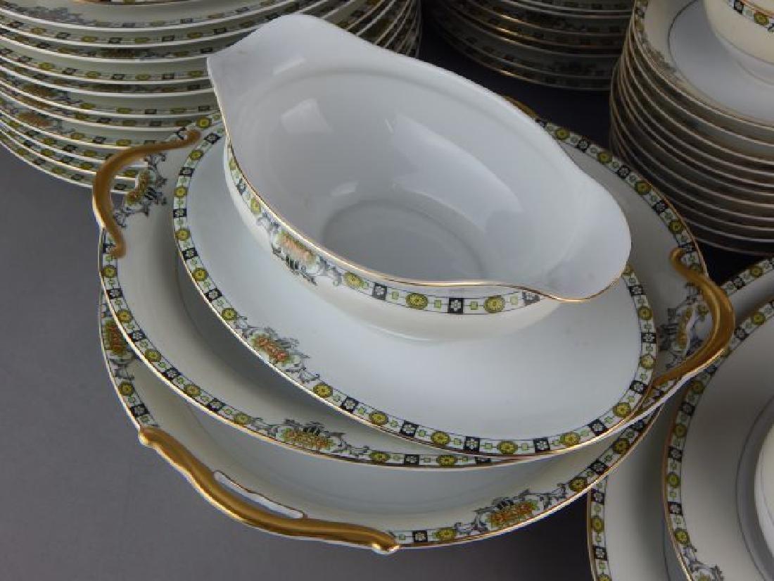 """Noritake China 73 Pieces """"Anaconda"""" Dinner Set - 4"""