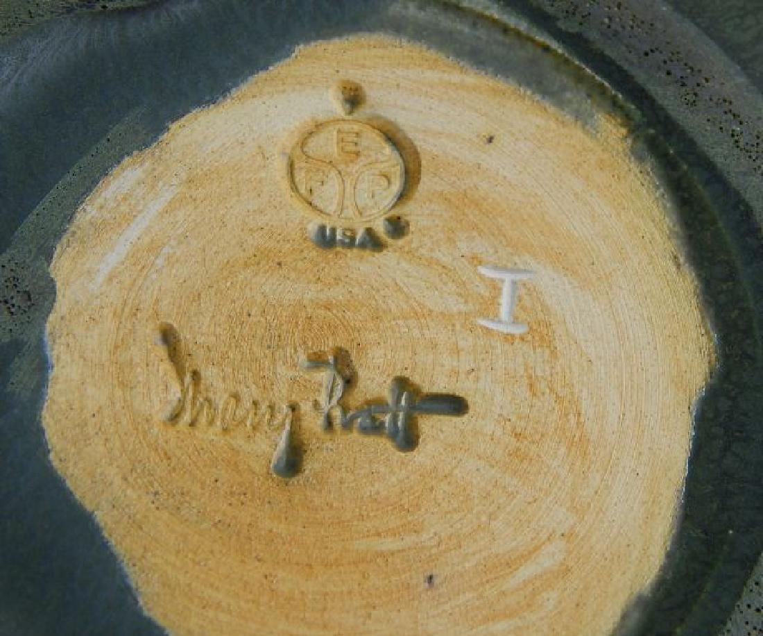Signed Ephriam Art Pottery Pot Vase - 4