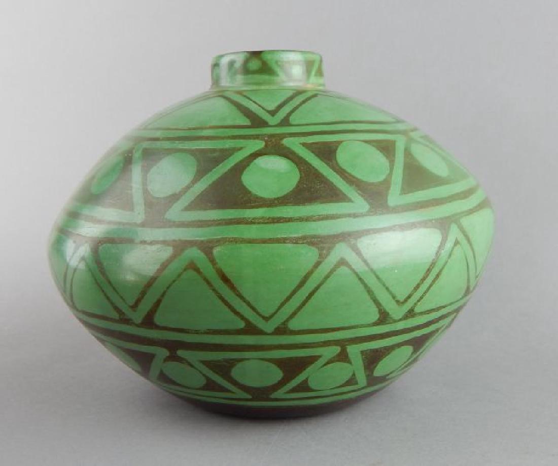 Peruvian Art Pottery Vase